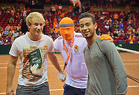 15-sept.-2013,Netherlands, Groningen,  Martini Plaza, Tennis, DavisCup Netherlands-Austria, 30 seconds  <br /> Photo: Henk Koster