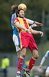 Partick Thistle v St Johnstone…28.10.17…  Firhill…  SPFL<br />Adam Barton and Murray Davidson<br />Picture by Graeme Hart. <br />Copyright Perthshire Picture Agency<br />Tel: 01738 623350  Mobile: 07990 594431