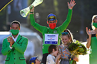 18th July 2021; Paris, France;  CAVENDISH Mark (GBR) of DECEUNINCK - QUICK-STEP after stage 21 of the 108th edition of the 2021 Tour de France cycling race, the stage of 108,4 kms between Chatou and finish at the Champs Elysees in Paris.