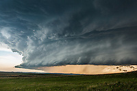 """""""Mothership"""" supercell thunderstorm in Montana, May 18, 2014"""