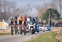 the breakaway group<br /> <br /> 45th Oxyclean Classic Brugge-De Panne 2021 (ME/1.UWT)<br /> 1 day race from Bruges to De Panne (204km)<br /> <br /> ©kramon