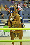 Navona Gallegos  Participates in the $20,000 Gamblers Choice Costume Jump at The 53rd annual Washington International Horse Show at the Verizon Center in  Washington D.C. on 10/27/11 (Ryan Lasek / Eclipse Sportwire)