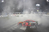 #19: Martin Truex Jr., Joe Gibbs Racing, Toyota Camry Bass Pro Shops celebrates after winning