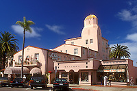 hotel, La Jolla, California, CA, La Valencia Hotel in La Jolla.