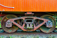 Canadian National Railway 1920s Caboose 76904 Wheels, CN Fort Langley Station