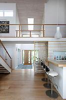 Mezzanine in the house