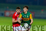 Sean O'Brien looks for support during the Eirgrid Munster Football Final against Cork, played at Austin Stack Park, Tralee last Wednesday March 4.