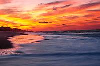 A Beautifal Sunrise At Emerald Isle, Southern Outer Banks, North Carolina