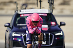 Ruben Guerreiro (POR) EF Education-Nippo during Stage 2 of the 2021 UAE Tour an individual time trial running 13km around  Al Hudayriyat Island, Abu Dhabi, UAE. 22nd February 2021.  <br /> Picture: Eoin Clarke | Cyclefile<br /> <br /> All photos usage must carry mandatory copyright credit (© Cyclefile | Eoin Clarke)