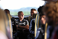 Wednesday 07 August 2013<br /> Pictured:  <br /> Re: Swansea City FC travelling to Sweden for their Europa League 3rd Qualifying Round, Second Leg game against Malmo.