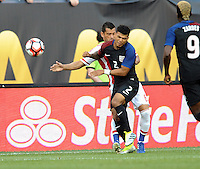 Philadelphia, PA - June 11, 2016: USA defender DeAndre Yedlin (2) during a Copa America Centenario Group A match between United States (USA) and Paraguay (PAR) at Lincoln Financial Field.