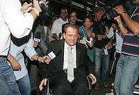 GIANFRANCO PAGLIA.Roma 03/08/2010 Cena con i senatori e deputati  che hanno aderito al gruppo Futuro e Liberta'..Photo Zucchi Insidefoto