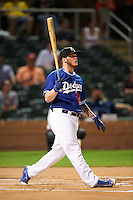 Glendale Desert Dogs Alex Verdugo (51), of the Los Angeles Dodgers organization, during the Bowman Hitting Challenge on October 8, 2016 at the Salt River Fields at Talking Stick in Scottsdale, Arizona.  (Mike Janes/Four Seam Images)