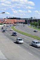 Einkaufszentrum in Kaunas, Litauen, Europa