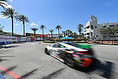 2017 IMSA WeatherTech SportsCar Championship<br /> BUBBA burger Sports Car Grand Prix at Long Beach<br /> Streets of Long Beach, CA USA<br /> Saturday 8 April 2017<br /> 93, Acura, Acura NSX, GTD, Andy Lally, Katherine Legge<br /> World Copyright: Richard Dole/LAT Images<br /> ref: Digital Image RD_LB17_318