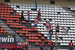 Some people take the seats as a souvenir during the last match to be played by Atletico de Madrid at Vicente Calderon Stadium in Madrid, May 28, 2017. Spain.. (ALTERPHOTOS/Rodrigo Jimenez)