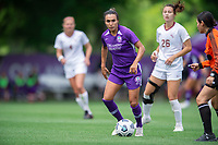 SANFORD, FL - APRIL 3: Marta of the Orlando Pride dribbles the ball during a game between Florida State Seminoles and Orlando Pride at Sylvan Park Training Center on April 3, 2021 in Sanford, Florida.
