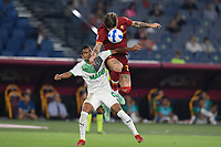 12th September 2021; Olimpico Stadium, Rome, Italy; Serie A championship football, AS Roma versus US Sassulo ; Nicolo Zaniolo of As Roma