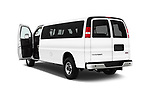 Car images of 2018 GMC Savana-Passenger 3500-LS-Ext 5 Door Passenger Van Doors