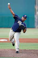 Gabe DeHoyos - AZL Padres - 2009 Arizona League - DeHoyos appeared in an Arizona League game against the AZL Cubs at Fitch Park, Mesa, AZ, while rehabbing an injury - 07/16/2009..Photo by:  Bill Mitchell/Four Seam Images..