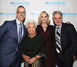 "Jerry Mitchell, Joy Abbott, Angie Schworer and Troy Britton Johnson during The ""Mr. Abbott"" Award 2019 at The Metropolitan Club on 3/25/2019 in New York City."