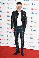 Isaac Carew<br /> arriving for the Giving Mind Media Awards 2017 at the Odeon Leicester Square, London<br /> <br /> <br /> ©Ash Knotek  D3350  13/11/2017