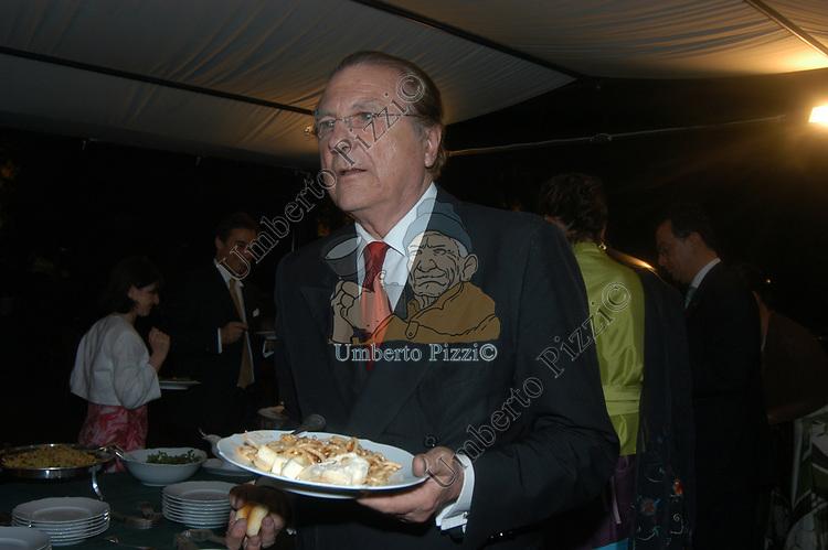 RAIMONDO ORSINI AL MATRIMONIO DI GINEVRA GIOVANELLI - ROMA 2004