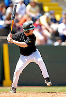 21 April 2007: University of Vermont Catamounts' Jim Chapman, a Senior from Bourne, MA, in action against the University of Hartford Hawks at Historic Centennial Field, in Burlington, Vermont...Mandatory Photo Credit: Ed Wolfstein Photo