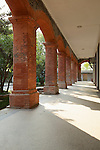 Colonnade On The Custom House, Customs Compound, Foreign Settlement, Hangzhou (Hangchow).  The Compound Is Now Part Of A University Hospital.