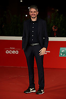 """Director Marcel Barrena poses on the 16th International Rome Film Fest (Festa del Cinema di Roma) red carpet for the movie of the film """"Mediterraneo: The Law of The Sea  """" on October 15, 2021 at the Auditorium Parco della Musica in Rome.<br /> UPDATE IMAGES PRESS/Isabella Bonotto"""
