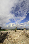 Archaeological excavations unearthed nearly 30 layers of ancient settlements at Tel Megiddo, a World Heritage Site