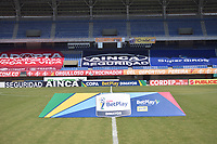 PEREIRA - COLOMBIA, 21-10-2020: Deportivo Pereira y Tigres F.C. en partido de ida por la fase III de la Copa BetPlay DIMAYOR 2020 jugado en el estadio Hernán Ramírez Villegas de la ciudad de Pereira. / Deportivo Pereira and Tigres F.C. in first leg match for the phase III as part of BetPlay DIMAYOR Cup2020 played at Hernan Ramirez Villegas stadium in Pereira city.  Photo: VizzorImage/ Pablo Bohorquez / Cont