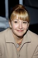 Louise Deschatelets<br /> au salon du livre, nov 1995 <br /> (date exacte inconnue)<br /> <br /> <br /> PHOTO D'ARCHIVE : Agence Quebec Presse