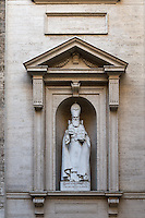 St. Gregory the Illuminator located outside of St. Peter's Basilica, Vatican City, Rome, Italy