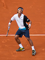 29-05-13, Tennis, France, Paris, Roland Garros, Somdev Devvarman