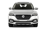 Car photography straight front view of a 2021 Mg EHS Luxury 5 Door SUV Front View