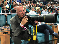 MIAMI GARDENS, FLORIDA - MARCH 23:  Kevin O'Leary day 6 of the Miami Open Presented by Itau at Hard Rock Stadium on Saturday on March 23, 2019 in Miami Gardens, Florida<br /> <br /> People: Kevin O'Leary
