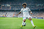 Marcelo Vieira Da Silva of Real Madrid in action during the UEFA Champions League 2017-18 match between Real Madrid and APOEL FC at Estadio Santiago Bernabeu on 13 September 2017 in Madrid, Spain. Photo by Diego Gonzalez / Power Sport Images