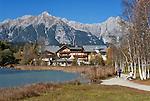 Austria, Tyrol, Seefeld in Tyrol: Lake Wildsee | Oesterreich, Tirol, Seefeld in Tirol: Wildsee