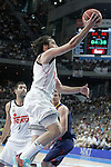 Real Madrid's Sergio Llull during Liga Endesa ACB 2nd Final Match.June 21,2015. (ALTERPHOTOS/Acero)
