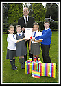 06/09/2007       Copyright Pic: James Stewart.File Name : sp_jspa01_weather_comp.SCOTTISH POWER : ROYAL METEOROLOGICAL SOCIETY : 2007 SCHOOLS WEATHER COMPETITION .ALAN KELLY OF SCOTTISH POWER PRESENTS THE PUPILS FROM KING'S OAK PRIMARY SCHOOL, GREENOCK, WITH THEIR CERTIFICATE AND PRIZES AFTER THEY WON THE ROYAL METEOROLOGICAL SOCIETY'S, 2007 SCHOOLS WEATHER COMPETITION, SPONSORED BY SCOTTISH POWER... THE PUPILS ARE LtoR JENNA HOLMES (10), SEONAID MCLAUGHLAN (9), REBECCA KEMP (10) AND KYLE LINDSAY (10).....James Stewart Photo Agency 19 Carronlea Drive, Falkirk. FK2 8DN      Vat Reg No. 607 6932 25.Office     : +44 (0)1324 570906     .Mobile   : +44 (0)7721 416997.Fax         : +44 (0)1324 570906.E-mail  :  jim@jspa.co.uk.If you require further information then contact Jim Stewart on any of the numbers above........