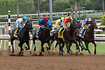 """ARCADIA, CA  SEPTEMBER 28:  <br /> The start of the Awesome Again Stakes (Grade l) """"Win and You're In Breeders' Cup Classic Division"""" on September 28, 2019 at Santa Anita Park in Arcadia, CA.(Photo by Casey Phillips/Eclipse Sportswire/CSM)"""