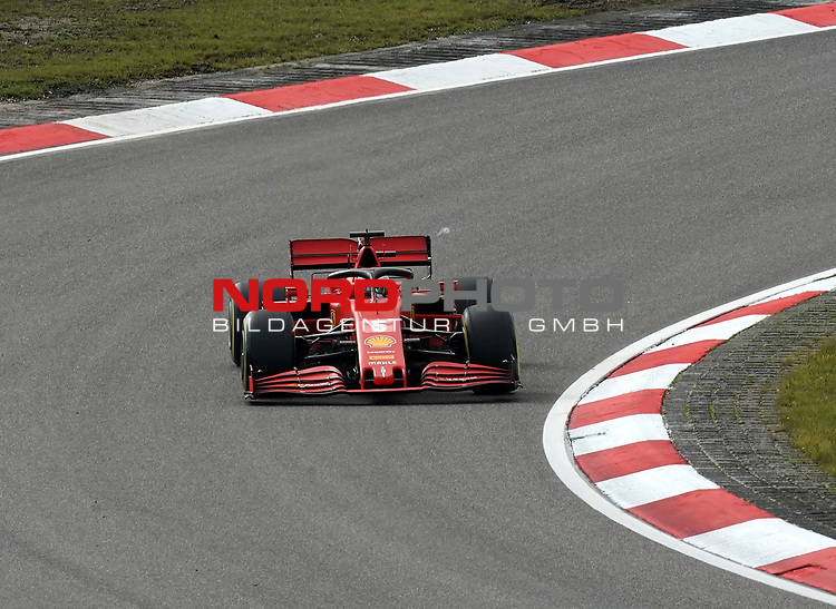 10.10.2020, Nürburgring, Nürburg, Formula 1 Aramco Grosser Preis der Eifel 2020<br /> , im Bild<br />Sebastian Vettel (GER#5), Scuderia Ferrari<br /> <br /> Foto © nordphoto / Bratic