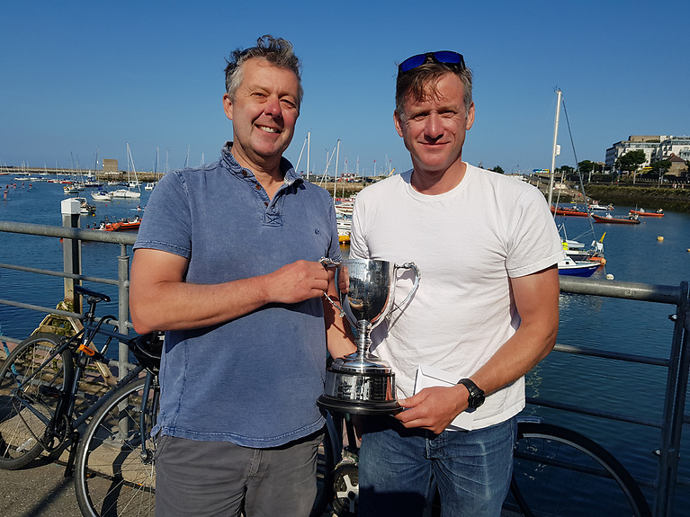 Noel Butler and Stephen Oram were second