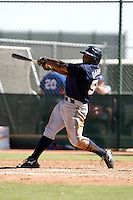Kentrail Davis - Milwaukee Brewers 2009 Instructional League.Photo by:  Bill Mitchell/Four Seam Images..