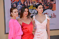 """LOS ANGELES, USA. July 23, 2019: Tallulah Willis, Scout Willis & Rumer Willis at the premiere of """"Once Upon A Time In Hollywood"""" at the TCL Chinese Theatre.<br /> Picture: Paul Smith/Featureflash"""
