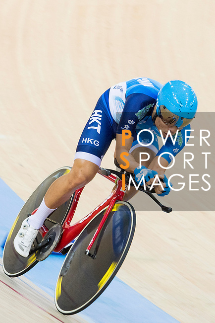Ko Siu Wai of the Hong Kong team competes in the Men's Individual Pursuit - Qualifying as part of the 2017 UCI Track Cycling World Championships on 14 April 2017, in Hong Kong Velodrome, Hong Kong, China. Photo by Chris Wong / Power Sport Images
