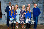 Sarah Heasman and Chloe McHugh former students of Nagle Rice NS receiving their Confirmation in the Church of the Sacred Heart, Milltown on Monday, l to r: Sarah Heasman with her parents David and Marie Heasman and Chloe McHugh with her family Margaret and Keelin McHugh and William Harmon.