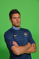 Olivier Giroud .29/5/2012 .Calcio Foto Ufficiali Francia Euro2012.Foto Insidefoto / Anthony Bibard / FEP/ Panoramic ITALY ONLY