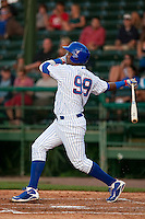 April 7th 2010: Nelson Perez of the Daytona Cubs, Florida State League High-A affiliate of the Chicago Cubs in the game against Embry-Riddle Aeronautical University at Jackie Robinson Ballpark in Daytona Beach, FL (Photo By Scott Jontes/Four Seam Images)